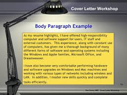 Ideas Of Rdrew Cover Letter Workshop On Cover Letter Body Sentence