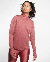 Nike Element Half Zip Size Chart Nike Sphere Womens Half Zip Running Top