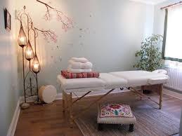 massage room decor healing room
