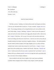 first amendment synthesis essay hoodhood clare a coddington  3 pages multiple strategy essay hoodhood
