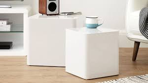 luxury small white gloss coffee table 44 elegant high side with contemporary dice tables nesting furniture