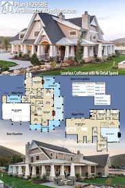 one story house plans with wrap around porch elegant 259 best craftsman house plans images on
