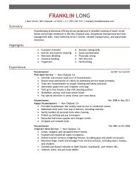Housekeeping Resume Private Housekeeper Resume Sample Downloads Billigfodboldtrojer 89