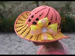 Очень красивая летняя шляпка, Часть 1. Very nice <b>summer</b> hat ...