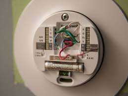what's a c wire, and why should you care? cnet outside ac unit thermostat wiring enlarge image installing the honeywell lyric thermostat