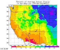 California Annual Rainfall Chart Wyoming Climate Atlas