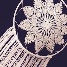 Big Dream Catcher For Sale Huge White Dream Catcher Crochet Doily from MonaKhalilCreations 18