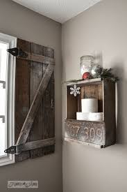 how to build your own barn wood shutter via funkyjunkinteriors