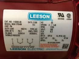 i have a leeson motor m6k17fb4m that needs to be wired with single leeson single phase motor wiring diagram at Leeson Single Phase Motor Wiring Diagram