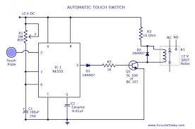 touch switch circuit diagram the wiring diagram touch switch circuit diagram using ne 555 ic circuit diagram
