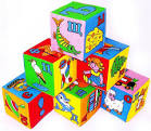 Кубики с буквами для детей