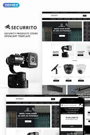 Securrito Security Products Store Opencart Template