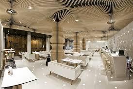 Interior Design Neighboring an Art Gallery: Cafe Graffiti in Bulgaria -  Freshome.com