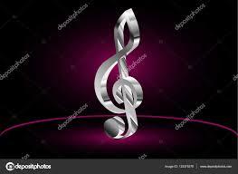 Houslový Klíč Hudba Clef Stock Vektor Danler 133375370
