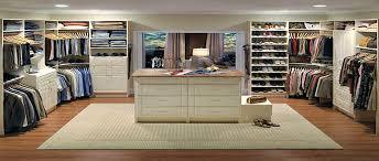 walk in closet organizer in antique white