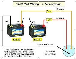 boat battery wiring diagram boat wiring diagrams schematics 24V Battery Wiring Diagram boat battery wiring diagram interior volt wiring diagram system schematic battery used when trolling motor three
