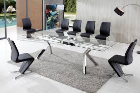 dining table and chairs glass dining table modenza furniture brilliant contemporary glass dining tables