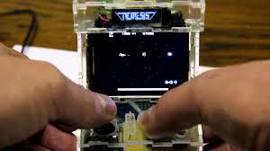 Raspberry Pi Game Cabinet Raspberry Pi Based Micro Arcade Cabinet Youtube