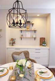 image of modern farmhouse chandelier