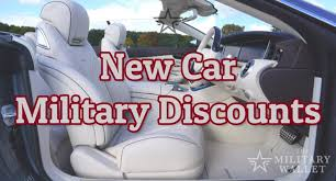new car military s save