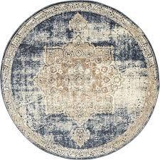 round blue rug round rugs dark blue x villa round rug area rugs round blue rug contemporary
