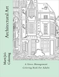 Small Picture Architectural Art A Stress Management Coloring Book For Adults