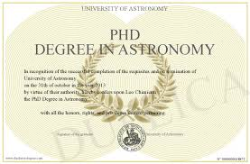 Phd Degree Phd Degree In Astronomy
