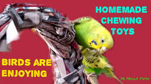 homemade chewing toy for budgies lovebirds how to make chewing toys for small parrots at home