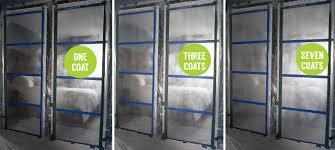 prep your spray space diy mirror closet doors