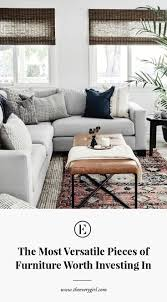 Versatile furniture Living Room What If We Told You There Are Actually 13 Furniture Roles Filled With This List The Everygirl The Most Versatile Pieces Of Furniture Worth Investing In The