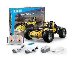 Doublee CaDA Remote Control Blocks Toys <b>All Terrain Vehicle</b> ...
