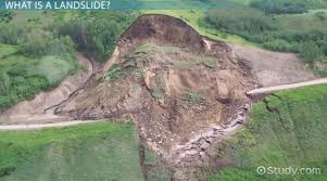 An earthquake (also known as a quake, tremor or temblor) is the shaking of the surface of the earth resulting from a sudden release of energy in the earth's lithosphere that creates seismic waves. What Is A Landslide Definition Causes Facts Earth Science Class Video Study Com