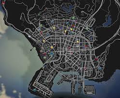 colored map blips gta5 mods com Map Gta 5 Map Gta 5 #21 mapgta5hiddengems