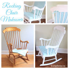 Vintage rocking chair makeover for a baby nursery   Annie Sloan ...