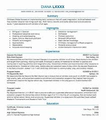 Daycare Resume Mesmerizing Daycare Assistant Resume Sample Caregiver Resumes LiveCareer
