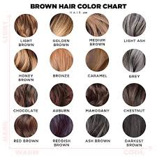 Loreal Ash Color Chart Shades Brown Hair Color Chart