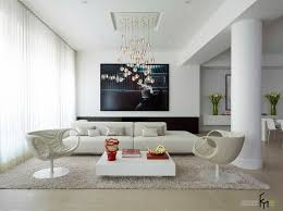 image of living room chandelier white