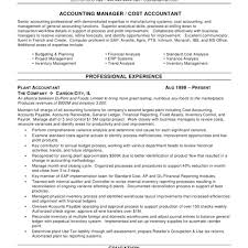 Example Of Accountant Resumes Accounting Resume Template Singapore Format Accountant