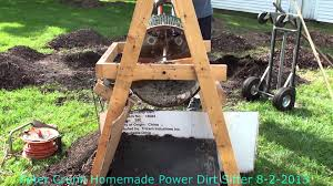 peter crunk home made 11 years old powers dirt sifter from s 8 2 2016