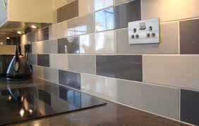 Kitchen Wall And Floor Tiles Linear White Gloss Wall Tile Kitchen Tiles From Tile Mountain