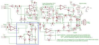 guitar amp circuit diagram the wiring diagram acoustic guitar amplifier circuit diagram pcb layout circuit diagram