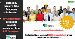 Customized Sales Leads Get 100 Free Sample Leads Of Your Choice