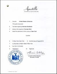 Birth Certificate Apostille Nyc Know How Apoling Solutions