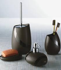 bathroom accessories black and silver. bathroom design ideas, black ceramic glossy stuff designer accessories teuco whirlpool integrates tub complete and silver e