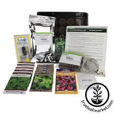 indoor herb garden kit. Indoor Herbal Tea Herb Garden Kit