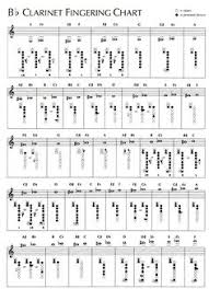 Printable Clarinet Finger Chart 8 Best Clarinet Images Clarinet Chart Sheet Music