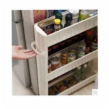 slim slide out kitchen rack holder storage cabinet shelf organiser