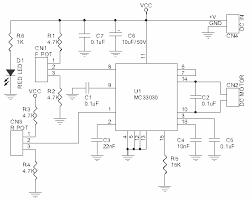 automations > servo circuits > dc servo motor driver mc33030 dc servo motor driver mc33030 schematic