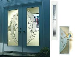 decorative glass front doors front door inserts popular glass front door privacy with glass inserts for