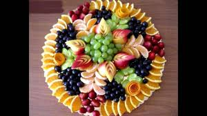 How To Decorate Fruit Tray Cool Fruit tray arrangement YouTube 62